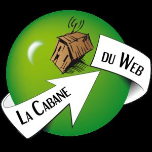 logo planete verte avec une cabane